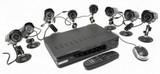 Видео охранителна сиситема - 8 канална + 8 камери-Камери