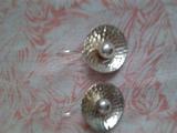 Масивни сребърни обеци-Обеци