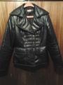 Черно пухено яке-Дамски Якета