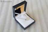 Огърлица бели кристали Сваровски-Медальони