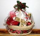 Коледни кошници-Занаяти