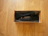 Черни ниски обувки комбинация велур и лак  - 37 номер-Официални Дамски Обувки