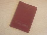 № 428  стара членска профсъюзна книжка - соц.период-Антики