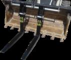 Устройство за присъединяване на палетни вилици към кофата на-Части и Аксесоари