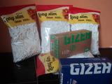Филтри за свиване на цигари + листчета България-Тютюневи изделия