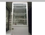 Вертикална  витрина за торти кръгла нова въртяща се-Хладилници