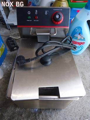 Фритюрници нови на ток или газ 8 литра . 4 kw.със защита | Фритюрници | Хасково