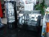 Вертикална витрина за торти  нова цвят черна-Хладилници