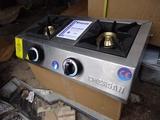 Професионален котлон на газ тройка Котлони на газ професиона-Котлони