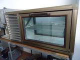 Втора употреба Миносова или плюсова витрина за заведения-Фризери
