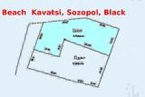 Първа линия море, върху плаж Каваци, парцел 466 м2, Созопол-Парцели