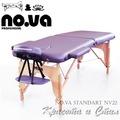 Дървена масажна кушетка NO.VA Standart NV22-Оборудване