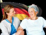 Търсим БОЛНОГЛЕДАЧКА за възрастната жена-Работа в Чужбина