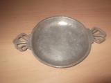 № 471 стар малък метален / оловно-калаена сплав с примеси-Антики