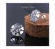 Ново! Сребърни обици с камък цирконий, проба 925 | Обеци  - Русе - image 2