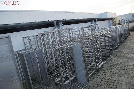 Колички от неръждаема стомана с размери 60х40 | Печки | Варна