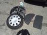 4 бр. железни джанти, с летни гуми и тасове Митсубиши | Гуми с Джанти  - Ямбол - image 0