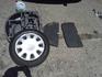 4 бр. железни джанти, с летни гуми и тасове Митсубиши | Гуми с Джанти  - Ямбол - image 1