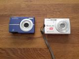 2 бр.Фотоапарати Olympus и Casio за части.-Фотоапарати