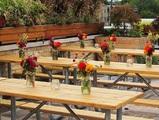 Пейки и маси бирфест под наем NOVA Catering-Дом и Градина