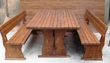 Дървени маси и пейки за механа, барбекю и градината-Дом и Градина