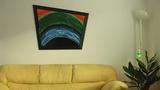 Абстрактна картина Skeiv verden-Изкуство