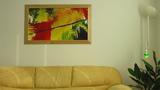 Абстрактна картина Tidlig høst-Изкуство