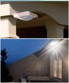 16 Led Соларна Лампа за стена градина водоустойчива фотоклетка-Други