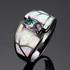 Дамски пръстени с опал и кристали | Пръстени  - Варна - image 0