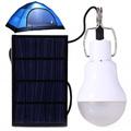 Нова Туристическа Соларна лампа Led крушка с кука за къмпинг-Лов и Риболов
