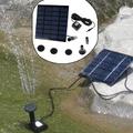 Декоративен градински фонтан слънчев соларен панел водна помпа-Дом и Градина