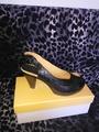 Дамски обувки №37, черна кожа-Официални Дамски Обувки