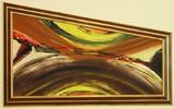Абстрактна картина пано Tilslørte bondepiker-Изкуство