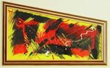Абстрактна картина/пано Trøndelag-Изкуство
