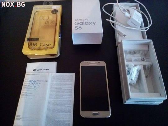 Samsung S6 Gold Като Нов с Гаранция   Мобилни Телефони   Стара Загора