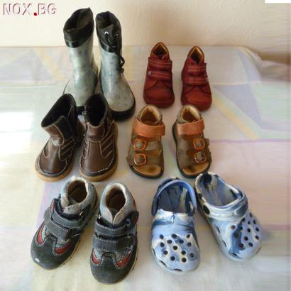 Лот обувки за бебе 20 номер ботуши сандали за момче детски м | Детски Обувки | Добрич