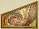 Авторска абстрактна картина Vannvirvel-Изкуство