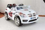 Бяла акумулаторна кола BMW R - 12V-Играчки и Хоби