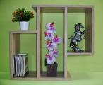 Етажерка за стена - Дъб Сонома-Мебели и Обзавеждане