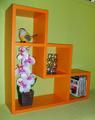 Етажерка за стена - Оранжева-Мебели и Обзавеждане