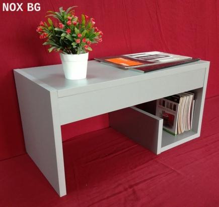 Помощна маса - Сив металик | Мебели и Обзавеждане | Пловдив