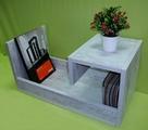 Помощна маса - Антично Бяло-Мебели и Обзавеждане