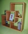 Етажерка за стена - Бамбук-Мебели и Обзавеждане