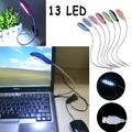 USB лампа за лаптоп таблет 13 LED нощна лампа гъвкава настол-Адаптети