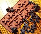 Силиконова форма за декорация на различни сладкиши-Дом и Градина