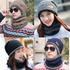 Зимна шапка и шал универсален размер | Мъжки Шапки  - Добрич - image 0