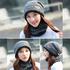 Зимна шапка и шал универсален размер | Мъжки Шапки  - Добрич - image 1