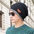 Зимна шапка и шал универсален размер | Мъжки Шапки  - Добрич - image 3