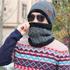 Зимна шапка и шал универсален размер | Мъжки Шапки  - Добрич - image 8