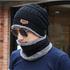 Зимна шапка и шал универсален размер | Мъжки Шапки  - Добрич - image 9